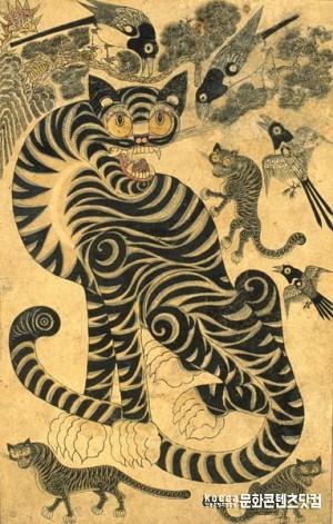 호랑이 이야기1 - 효부와 호랑이, 알고 보면 호랑이는 착하다?