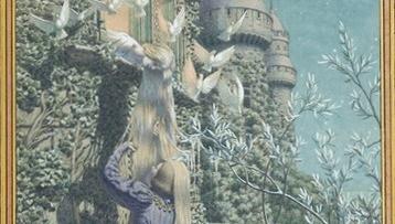 라푼젤 - 긴 생머리 그녀